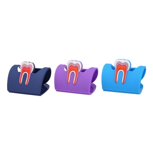 Portatarjetas colorido dental lindo
