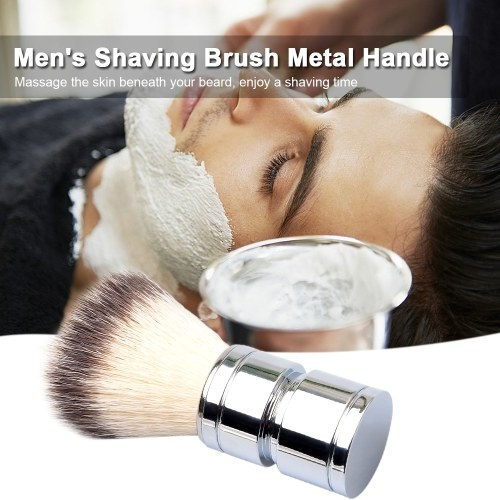 Men's Shaving Brush Metal Handle Beard Shaving Brush W7063