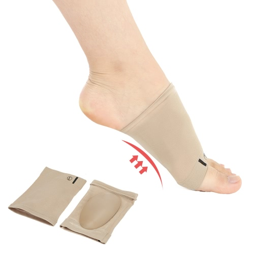 1 par pés chatos ortopédicas Fascite plantar Arch Suporte luva Cushion Pad esporão de calcanhar do pé Cuidados Palmilhas pé Pad ortopédicas Ferramenta