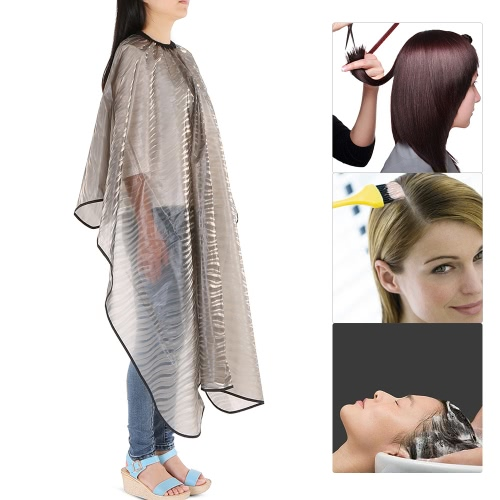 Waterproof Hairdressing Apron Cape Hair Cloth Shampoo Gown Hair Cutting Colouring Dyeing Perming Cape Hairdressing Cloth