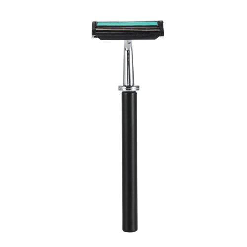 Anself 4 en 1 herramienta de limpieza facial de afeitar titular de la maquinilla de afeitar Set seco y mojado masculino masculino + Maquinilla + Jabón + Cuenco Badger Brocha