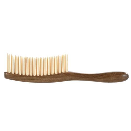 Natürliche Sandelholz Holz Haarkamm Hölzerne Textur Massage Kamm Haarbürste Anti-Statik-Haarkamm