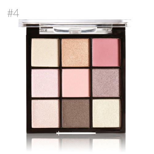 MARIA AYORA 9 Цветовая палитра Eyeshadow Matte Eyeshadow Set Women Cosmetic Neutral Теплая палитра тени для век Eye Makeup Palette