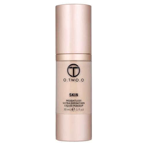O.TWO.O Liquid Foundation Coverage Concealer Creme Fluid Make-up Base Kosmetik Grundierung Wasserdicht Schwerelos