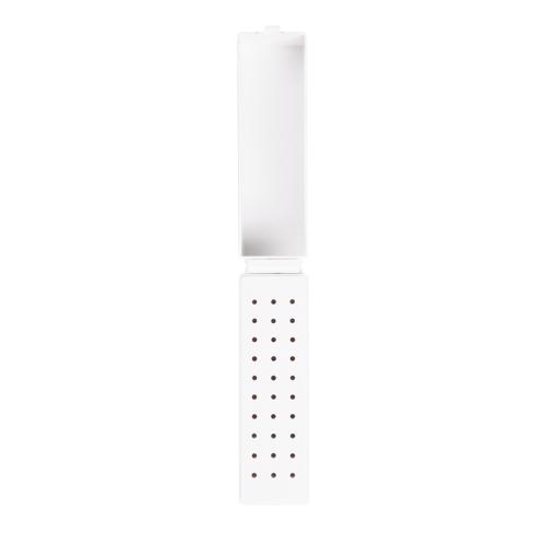 Держатель для сверла для ногтей 30 отверстий Стоматологический стенд для стенда Пластиковый лак для ногтей Стоматологический аксессуар для маникюра для ногтей