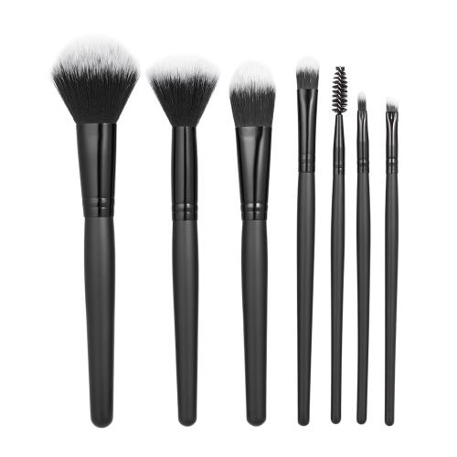 7pcs / pack Набор инструментов для кистей для макияжа Профессиональный косметический набор для наращивания порошка для укрывателя для красных глаз Тени для век