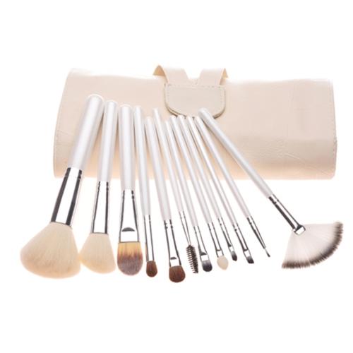 12 шт Профессиональные макияж кисти Косметика набор инструментов набора