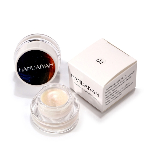 HANDAIYAN 5 Colors Polar Lights Highlight Cream Make Up Длительный косметический крем для укрывателя Rainbow Highlighter Stick Palette Shimmer Highlighting Powder