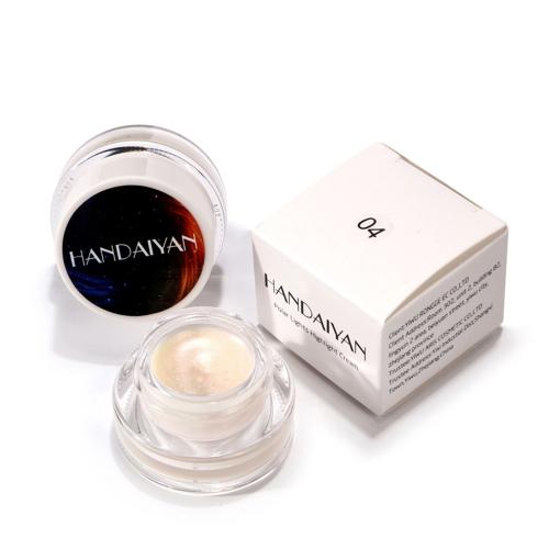 HANDAIYAN 5 Farben Polar Lichter Highlight Creme Make-Up Langlebige Kosmetik Concealer Creme Regenbogen Highlighter Stick Palette Schimmer Hervorhebung Pulver