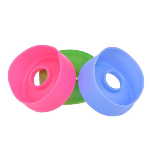 3 stücke Penis Pump Sleeve Cover Silikon Gummidichtung Ersatz Penis Vergrößerer Gerät Vakuumpumpe Zufällige Farbe