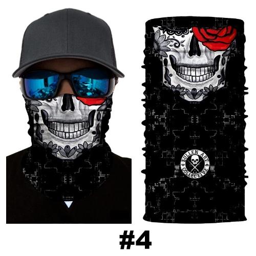 Sciarpa di maschera di cranio di passamontagna fresco