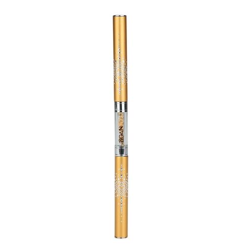 Strass Nail Art Pen Acryl Handle Nail Gel Pinsel/Punktierung/Bildhauerei/Liner Stifte Dual-Head