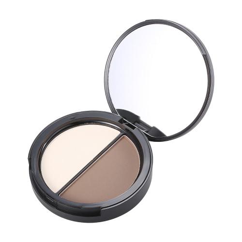Focallure 1pc Makeup Contour Frau Concealer Powder Professionelle Highlighting Palette Gesicht Kosmetik Werkzeug mit Spiegel 1 #