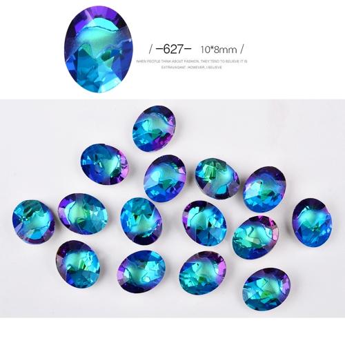 Neue 10 stücke Flame Decorator Maniküre Strass Glänzende Diamant Kristall Kunst Dekorationen DIY Schönheit Nagel Spitze Glitter Schmuck Zubehör