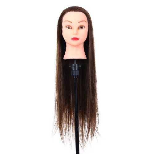 26 «Манекен-головка для парикмахерской» Головная палочка для волос »Парикмахерская практика» Dummy Head High Temperature Fiber Head Model
