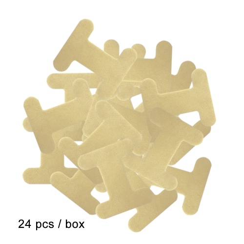 24 Stück / Box Mund Streifen Einweg Mundband für Mund Trockenheit Halsschmerzen Schnarchen Lösung