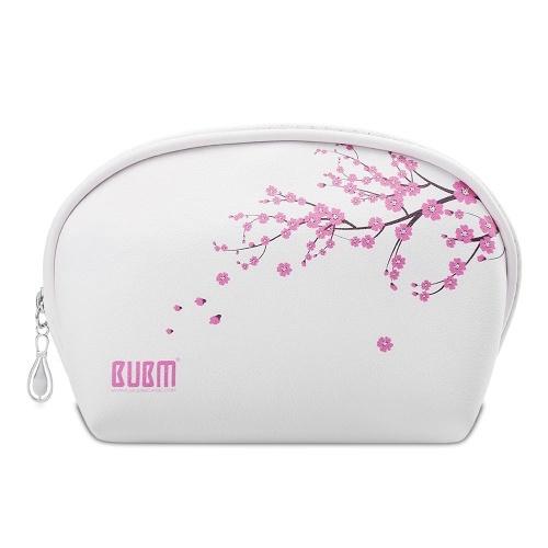 BUBM Forma de Concha Bolsas de Almacenamiento Cosmético Bolso Maletín Organizador de Maquillaje Portátil e Impermeable