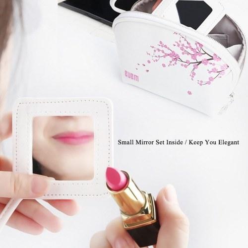 BUBM Shell Shape Cosmetic Storage Bags Handbag Case Makeup Organizer Portable & Waterproof