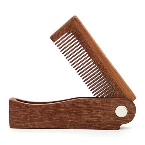 Faltbare Haare kämmen tragbare hölzerne Kamm Massage Haarbürste
