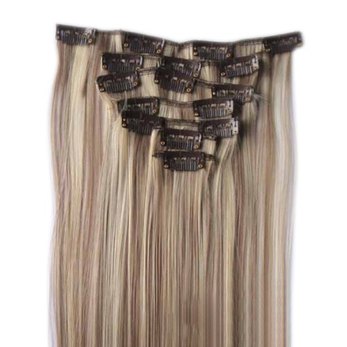 Long Straight Hairpiece for Women Synthetic Fiber Hairpieces