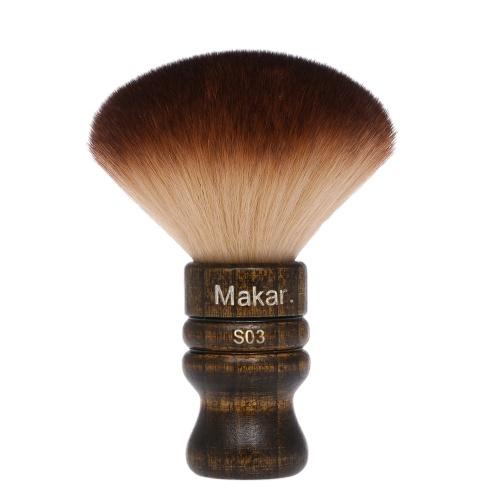 Soft Barber Neck Face Duster Brush Cleaning Hairbrush Hair Sweep Brush Salon Household Hair Cleaning Brush Nylon Hair