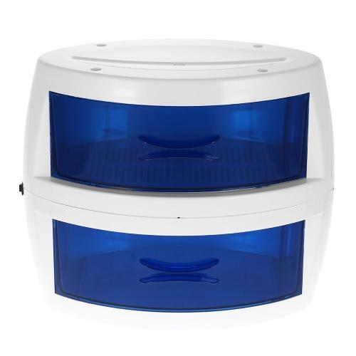 サウナサロン110V米国のプラグイン用のヘアーサロンヒーター滅菌タオル機器用の10W UV殺菌タオルキャビネット