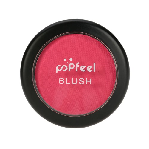 Popfeel Makeup Face Blusher Powder Palette Cosmetic Blusher Powder #1 Make Up 6 Colors Optional with Mirror Brush