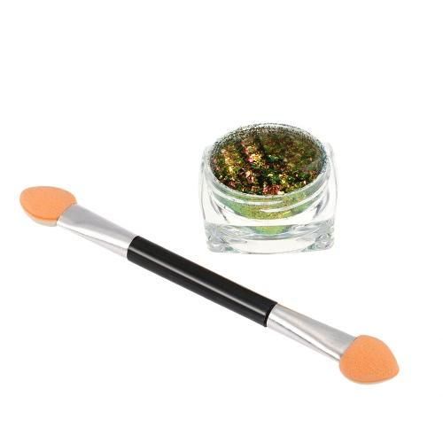 1pc Chrome Nagel-Puder-Nagel Glitter Metallic Nail Powder Shinning Puder-Nagel-Gel-Pulver-Dekoration-Werkzeug 6 #