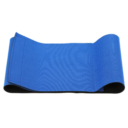 Waist Trimmer Exercise Wrap Belt Sweat Fat Burner Waist Protector Weight Loss Body Shaper for Men & Women