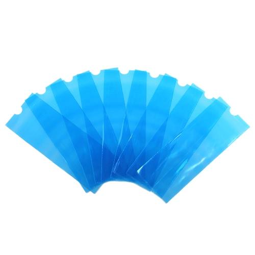200Pcs Tätowierung-wegwerfbare Abdeckungs-Tätowierung-Maschinen-Klipp-Schnur-Hülsen-Abdeckungs-Beutel für Tätowierung-Maschinen-Plastikblau
