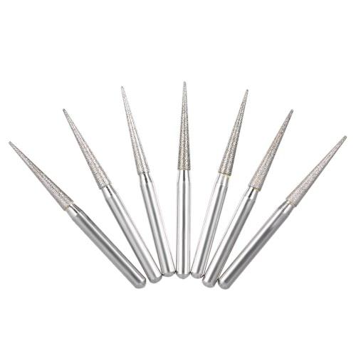 50Pcs Dental Diamond Burs Drill Dental Высокоскоростные инструменты для полировки и сглаживания зубьев