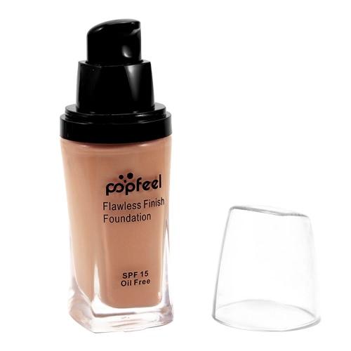 Поппинг BB Крем Жидкая финишная основа Укрыватель Sunscreen Base Primer Face Makeup Безупречный естественный свет