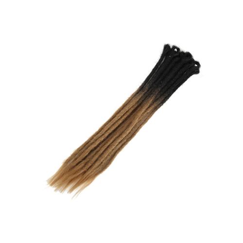 Вязание крючком Плетение волос Jumbo Braids Мода Женщины Серый Синтетический Ombre Цвет градиента