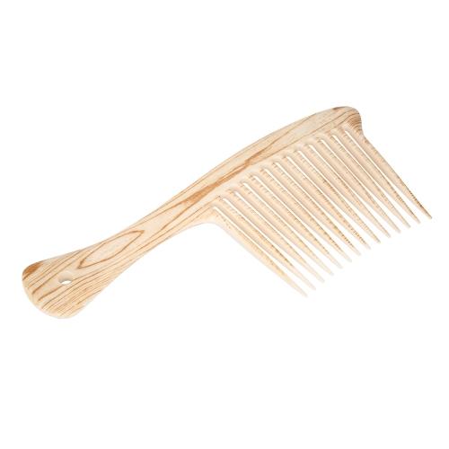 Большие широкие зубы для расчесывания волос Расческа расческа Антистатическая расческа Скальп Массаж Длинные зубные парикмахерские щетки