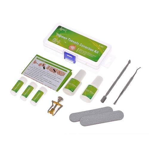 Ingrown Toenail Correction Set Toenail Treatment Toenail Straightening Patch Lifter Fixer Recover Tool Foot Care Kit