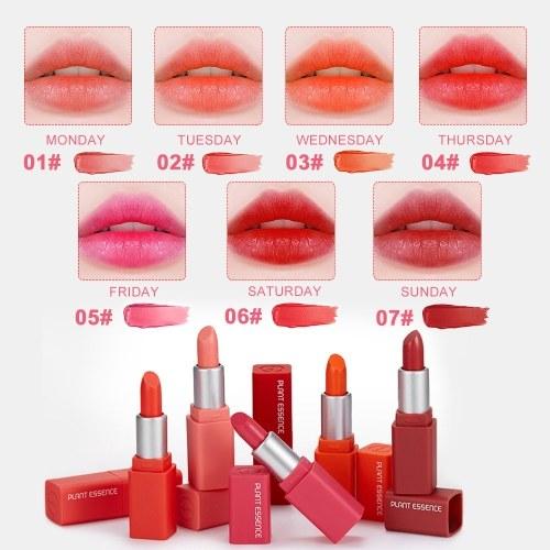 7pcs Fashion Lipstick High-Quality Velvet Lipstick Mini Waterproof Unfade Moisturizing Lip Stick 7 Color Lipstick Set Gift Box