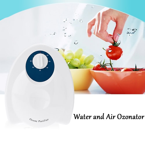 Water and Air Ozonator Ozone Generator Fruit Vegetables Food Sterilizer Air Purifier 220V EU Plug