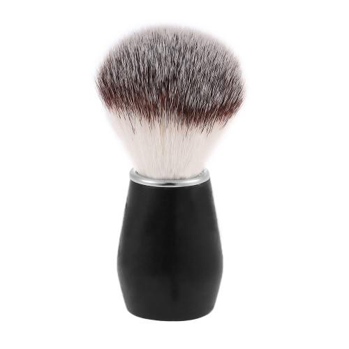 Rasierpinsel Männer Nylon Rasiermesser Rasierpinsel Holz für Barber Männliche Gesichts Rasieren Werkzeug Rasieren Reinigungswerkzeug Griff