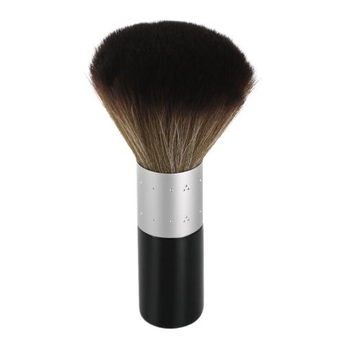 Anself 1Pc weiches Ansatz Gesicht Duster Pinsel Friseur Haarreinigungsbürste Salon Haushaltsbürste Nylon Friseur Styling-Werkzeug