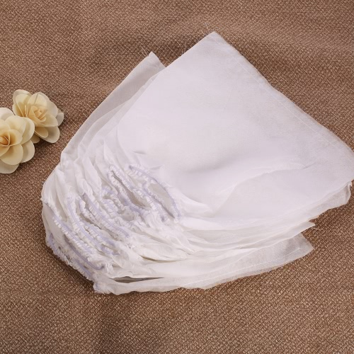 10Pcs White Non-woven Replacement Bags For Nail Art Dust Suction Collector High Quality Nails Arts Salon Tools