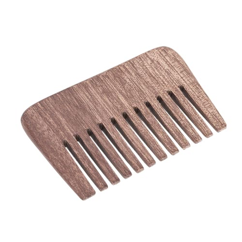 Men's Beard Hair Comb Wooden Mustache Comb Male Facial Hair Comb Anti-static Male's Pocket Comb