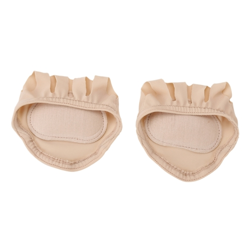 Frauen Unsichtbare Vorderfuß Socken Halb Backless Toe Pad Halbe Grip Ferse Fünf Finger Socken Kissen