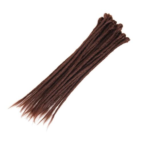 Женщины Серый Синтетический Ombre Градиент Цвет Вязание крючком Плетение волос Jumbo Braids