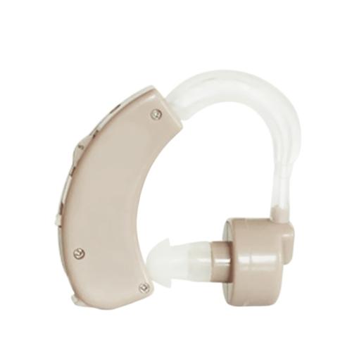 Pequeno no ouvido Amplificador de som invisível Auxiliar de escuta auditiva de tom ajustável