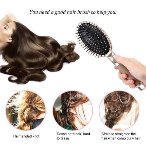 1pc Hair Brush Scalp Massage Comb Air Bag Hairbrush Anti-static Hairdressing W5837