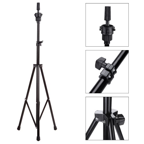 Abody Adjustable Tripod Stand Holder Hairdressing Wig Head Stand