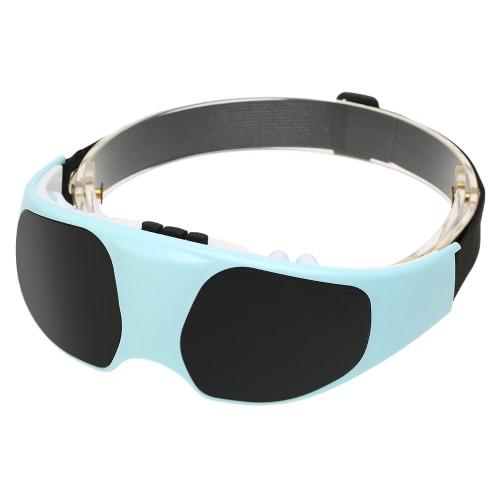 Masajeador de ojo eléctrico aliviar fatiga vibración magnética masaje cabeza estrés salud máquina tensión alivio de tensión