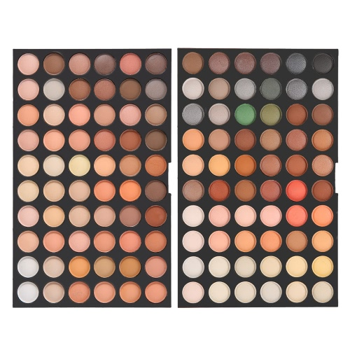 Abody 120 Colors Eyeshadow Makeup Palette Neutral Warm