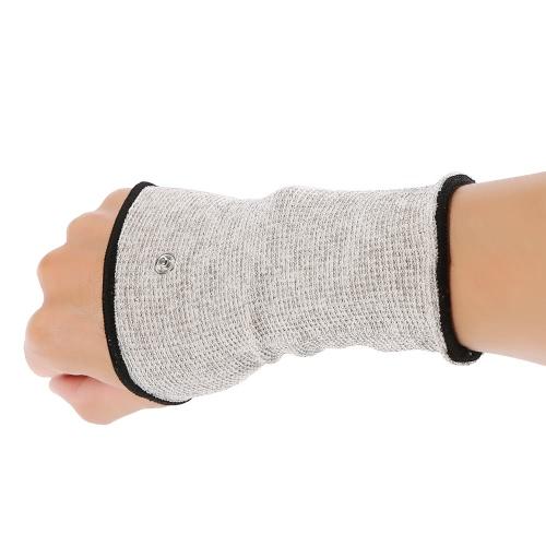Wrist condutora eletrodo Massagem pulseira para Dezenas Máquina 1 par Eletroterapia Wristguard para Massager alívio da dor