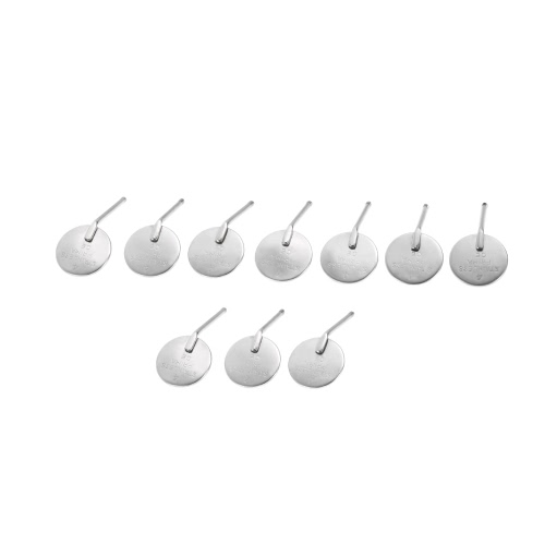 10pcs boca dental Espejo # 4 Reflector Odontoscope dentista Equipo dental de acero inoxidable espejo de boca